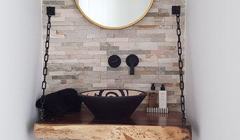 Modern Renovation Tribal Basin with Luxury Floating Wash Stand with Chains