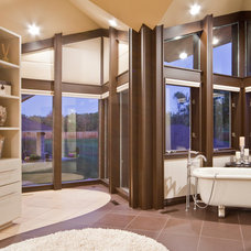 Contemporary Bathroom by Rebecca Elliott Interior Design, LLC