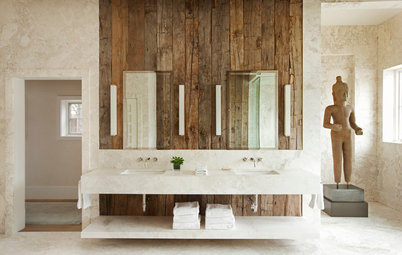 How to Bring the Beauty of Reclaimed Wood to the Bath