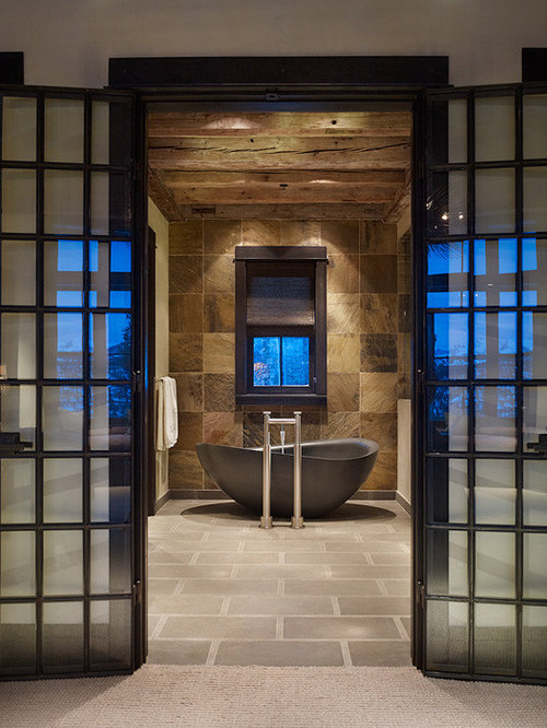 Bathroom Modern Rustic Bathroom Home Design Ideas Pictures Remodel
