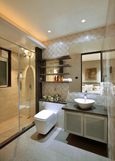 Contemporary Bathroom by fsnd