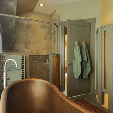 Contemporary Bathroom by Cushman Design Group