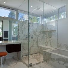 Modern Bathroom by Lencioni Construction