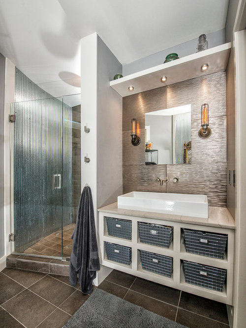 Corrugated Metal Shower Ideas Pictures Remodel And Decor