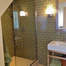 Modern Bathroom by Debra Paessler Designs