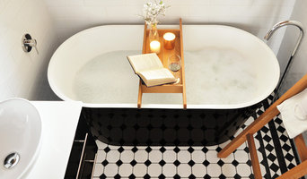 Modern Traditional Bathroom Monochrome Charm