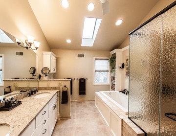 Modern Traditional Master Bathroom