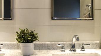 Modern Traditional Shiplap Bathroom