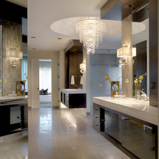 Contemporary Bathroom by Charles Vincent George Architects, Inc.