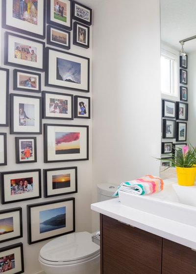 Modern Bathroom by elena del bucchia DESIGN