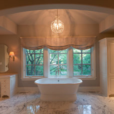 Transitional Bathroom by Kyle Hunt & Partners, Incorporated