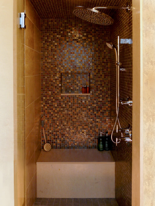 Small steam shower home design ideas pictures remodel and decor - Stunning home interior and bathroom decoration using steam shower for less ideas ...
