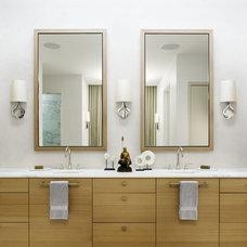 Contemporary Bathroom by Risinger Homes
