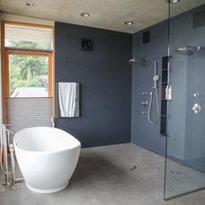 Contemporary Bathroom by Creative Stoneworks Inc