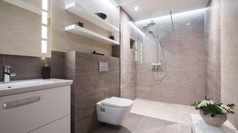 Modern Wet Room / Walk In Shower