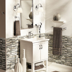 contemporary bathroom by Moen Inc.