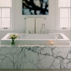 Modern Bathroom by Croma Design Inc