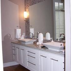 Modern Bathroom by Bassett Construction Services