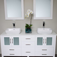 modern bathroom vanities and sink consoles by modernbathrooms.ca