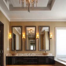 Contemporary Bathroom by Regency Interior Design,LLC