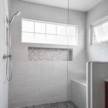 Modernized Master Bathroom