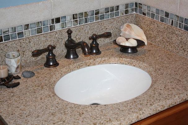 Tropical Bathroom by OasisDesign&Remodeling