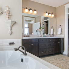 Craftsman Bathroom by Candlelight Homes