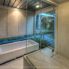 Contemporary Bathroom by Treve Johnson Photography