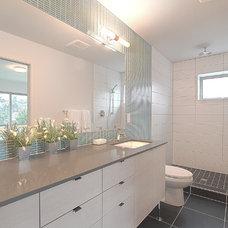 Contemporary Bathroom by Modwalls
