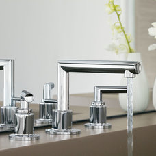 modern bathroom faucets by Moen Inc.