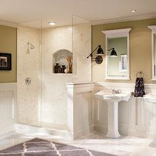 Transitional Bathroom by Moen