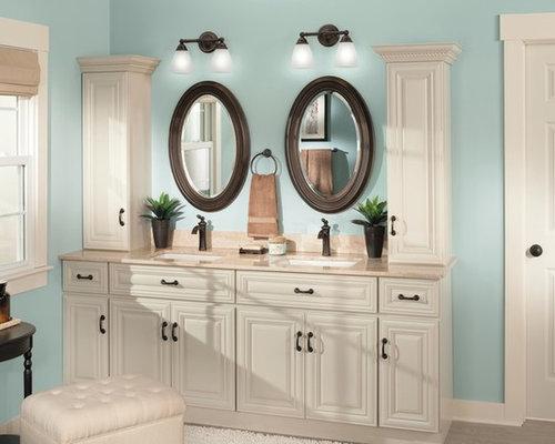 Cream Bathroom Cabinets