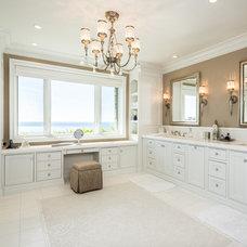 Beach Style Bathroom by Monarch Development and Design