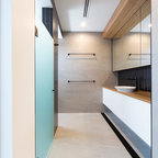 Lansel Rd Toorak Contemporary Bathroom Melbourne By Bubbles Bathrooms