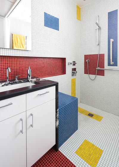 Contemporary Bathroom by Alloy Workshop