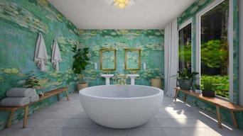 Monet- Inspired Bath
