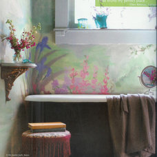 Tropical Bathroom by Ellen Kennon