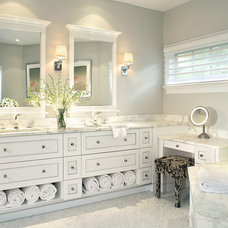 Traditional Bathroom by i.fromkin interiors