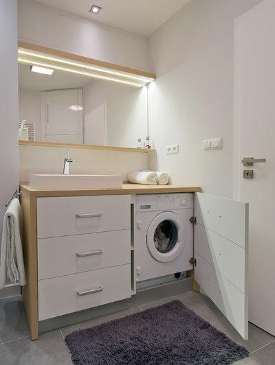 Faccende domestiche: la lavatrice? c'È, ma non si vede