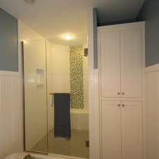 Beach Style Bathroom by Cottage Home, Inc.