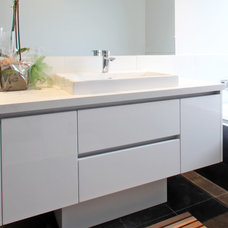 Contemporary Bathroom by Melbourne Contemporary Kitchens