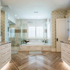 Traditional Bathroom by Lane Myers Construction