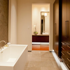 Contemporary Bathroom by Dan Luna Exceptional Woodworking