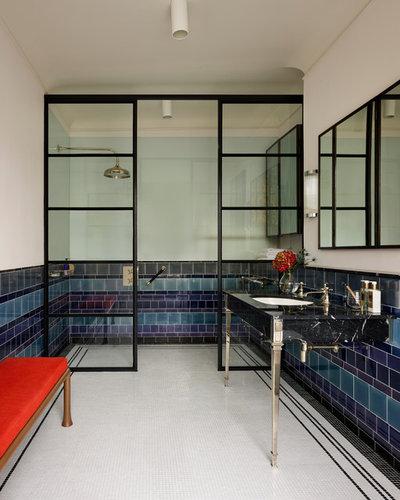 Eclectic Bathroom by MIC.UK.COM
