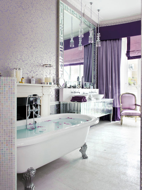 Purple Bathroom Ideas, Pictures, Remodel and Decor