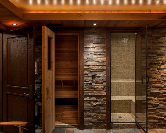rustic sauna design ideas remodels photos sauna design ideas - Sauna Design Ideas