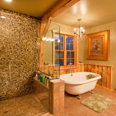 Traditional Bathroom by Sand Creek Post & Beam
