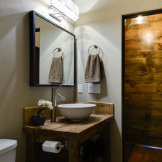 Contemporary Bathroom by Old Montana Building Company