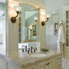 traditional bathroom by Tina Barclay