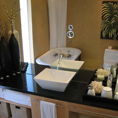 modern bathroom by Design Set Match